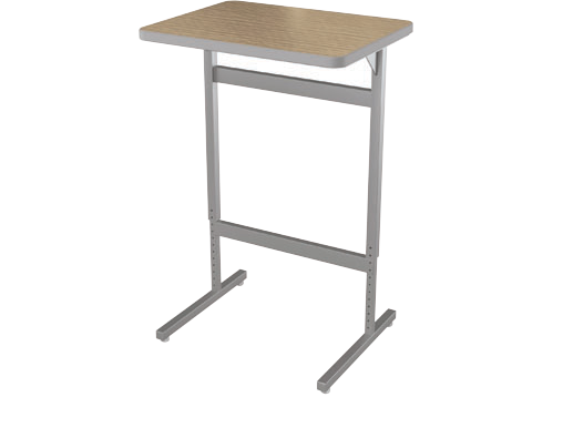 Advocate ™ Pedestal Standing Height Desk