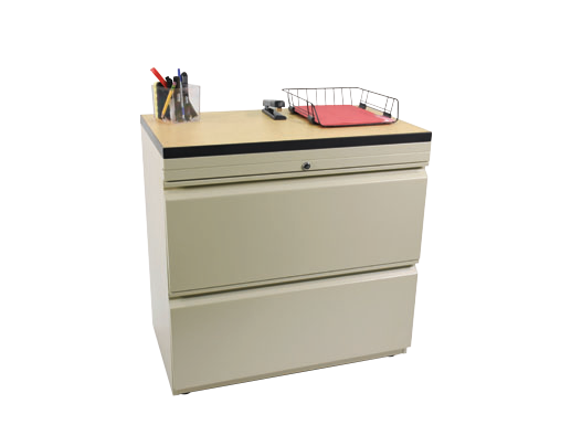 File Cabinet with Laminate Top